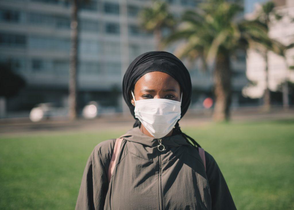 Beschermend gezichtsmasker
